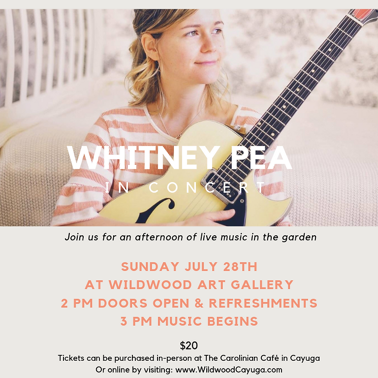 A Garden Party with Whitney Pea