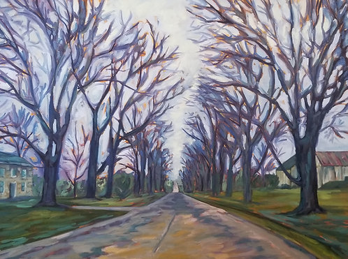 "Evening Drive | 30""x40"" 