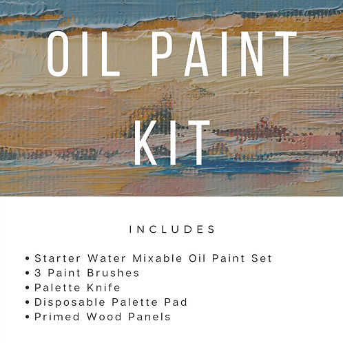 Oil Paint Kit