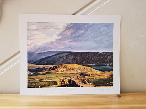 """8"""" x 10"""" Print of 'A View From Iceland'"""
