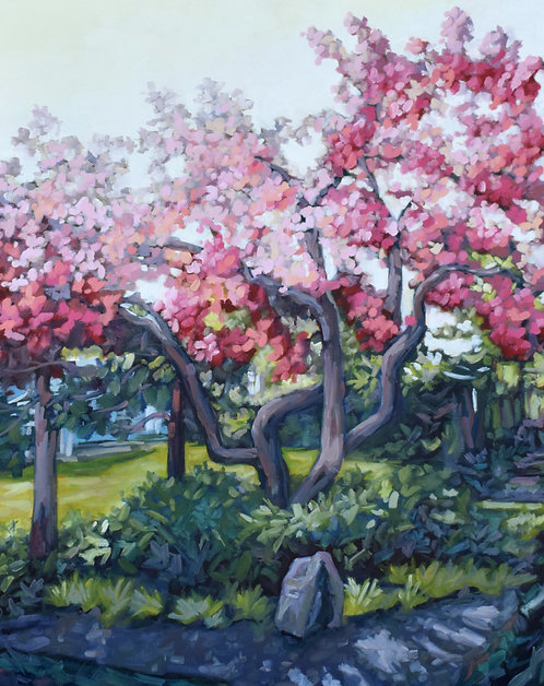 "In Full Bloom | 30""x24"" 