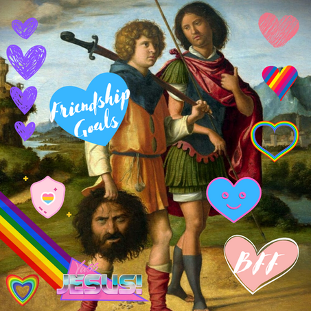 """Episode 112: David and Jonathan, Two Very """"Special Friends"""""""