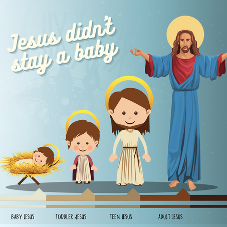 Episode 206: Jesus Didn't Stay a Baby