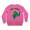 Thumbnail: Acceptance/ራስን መቀበል  Knitted Pink Sweater