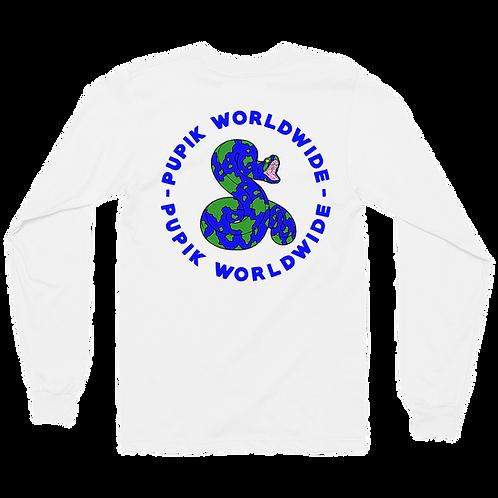 Pupik Wrldwide Long Sleeve T-Shirt