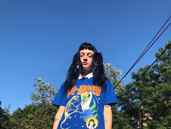 Embrace your demons blueTshirt