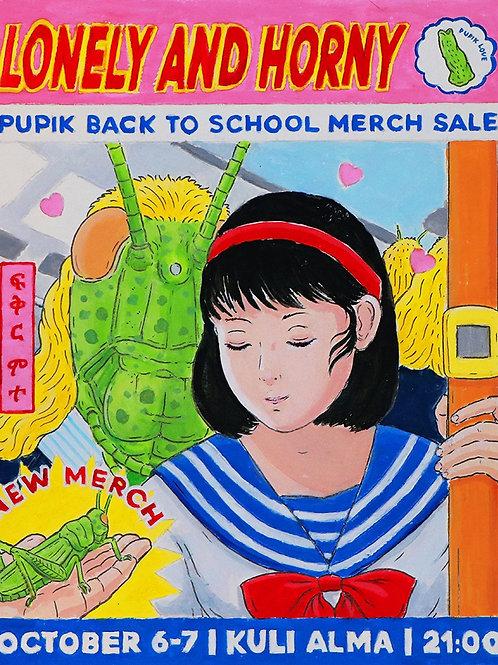 Pupik Back To School Poster