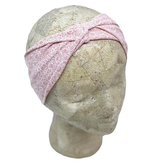 Light Pink Floral Headband