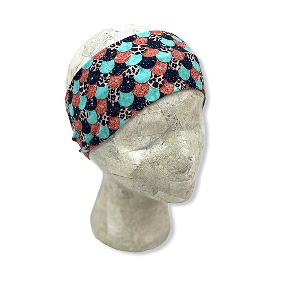 Mermaid Glitter and Animal Print Headband