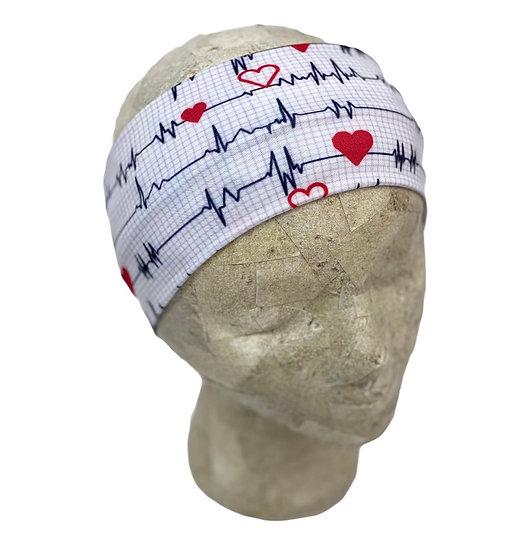EKG Hearts Medical Headband