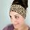 Thumbnail: Small Tan Animal Print Headband