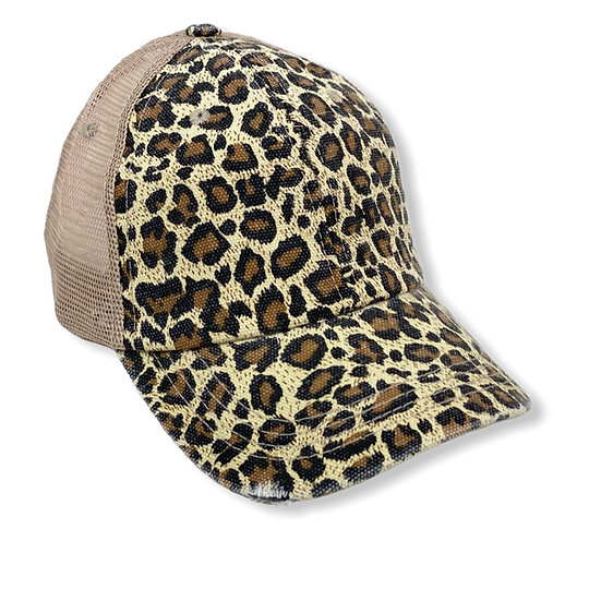 Traditional Animal Print Trucker Hat - Blank