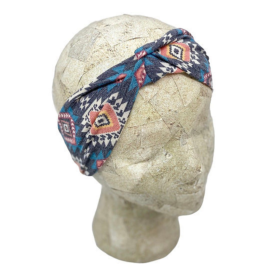 Muted Aztec Headband