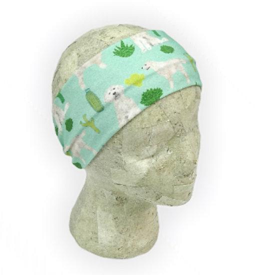 Golden Doodle Cactus Headband