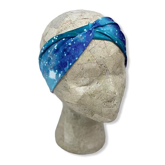 Blue Galaxy Headband
