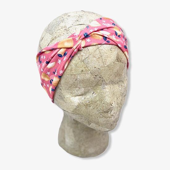 Pink Lemons and Citrus Headband