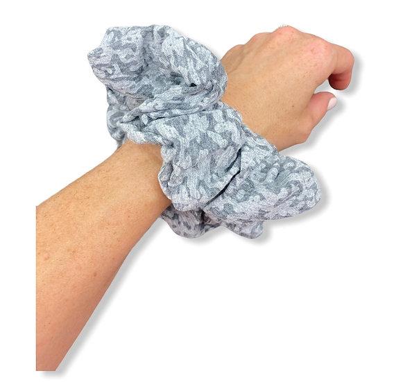 Speckled Grey Scrunchie
