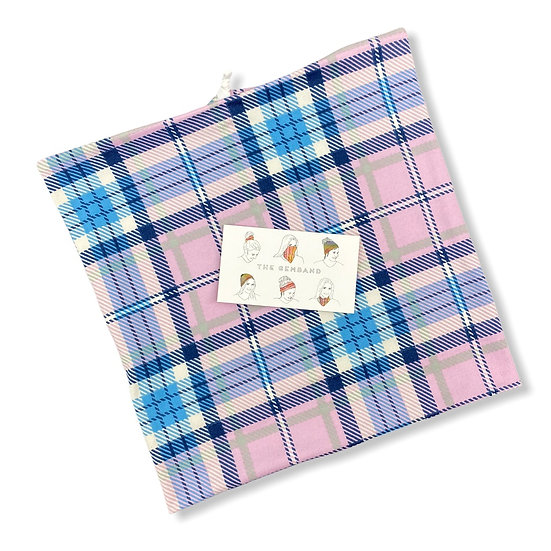 Spring Plaid GemBand - All-in-on Accessory