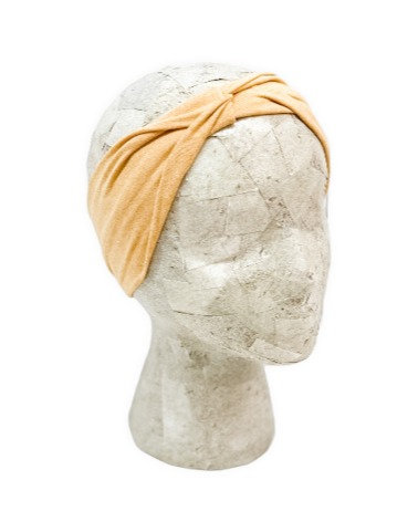 Solid Yellow Headband