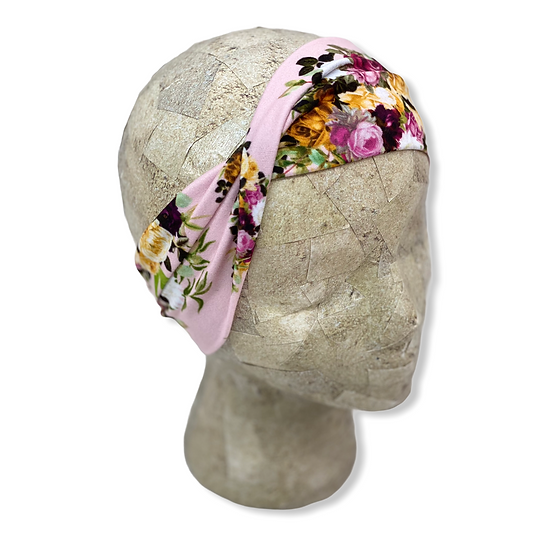 Blush and Bold Floral Headband