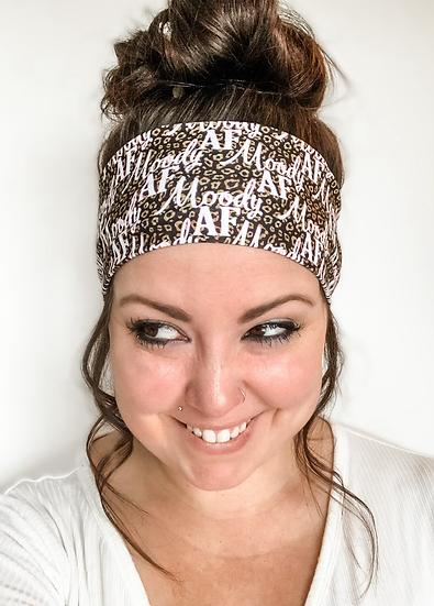 Moody AF Animal Print Headband
