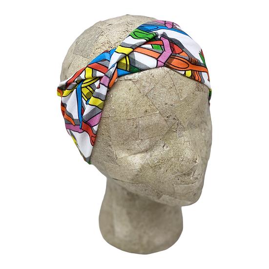 Colorful Crochet Hook Headband