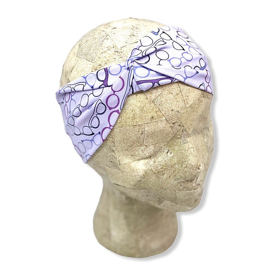 Light Purple Glasses Headband