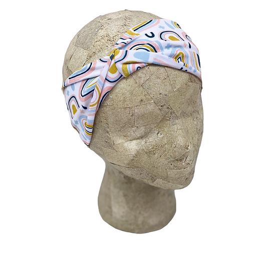 Pastel Rainbow Headbands