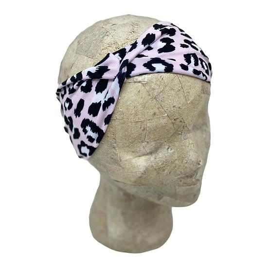 Light Pink Cheetah Animal Print Headband