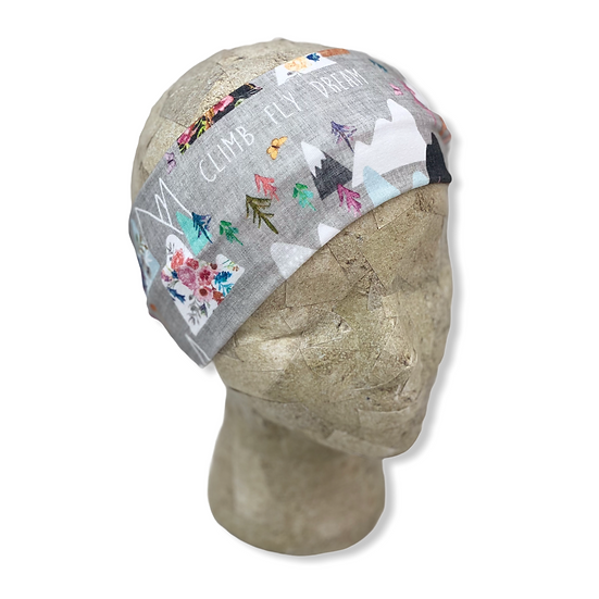 Climb Fly Dream Mountains Headband