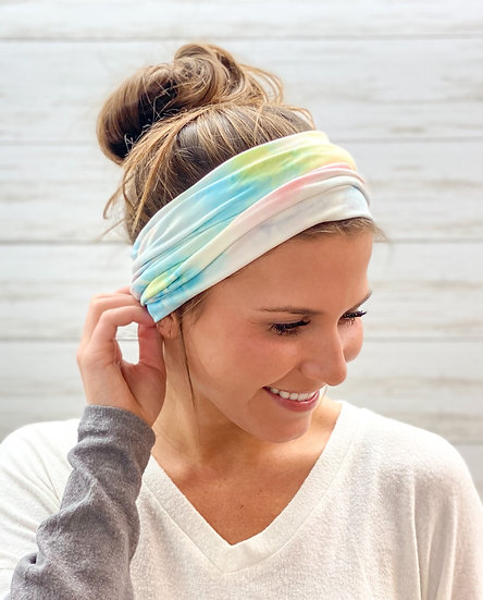 Pastel Tie Dye GemBand All-in-one Accessory