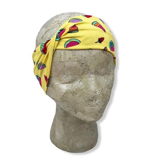 Yellow Summer Fruit Headband