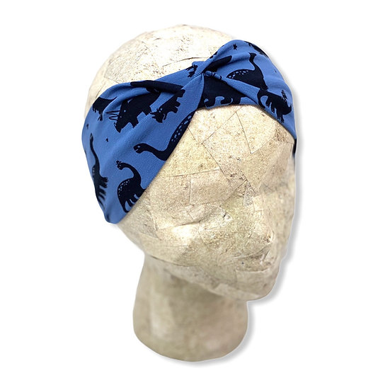 Blue Dinosaur Headband