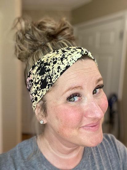 90s Paint Splatter Headband