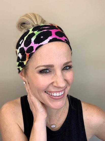 Lisa Frank Animal Print Headband