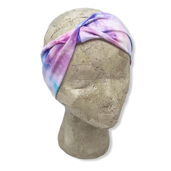 Colorful Rainbow Galaxy Headband