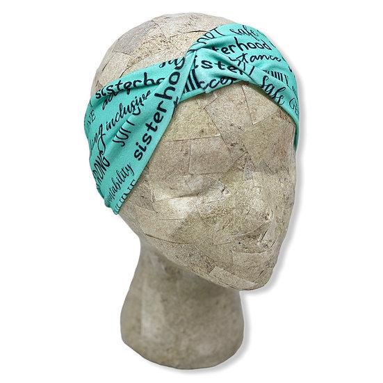 Teal Strong Sisterhood Headband