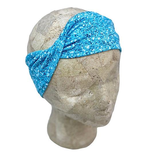 Aqua Glitter Shimmer Headband