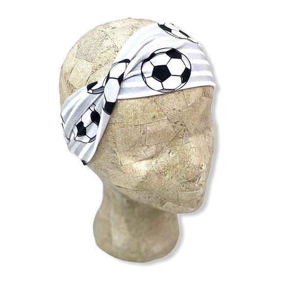 Soccer and Stripes Headband