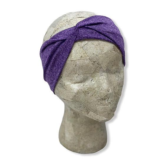 Heather Purple Solid Headband
