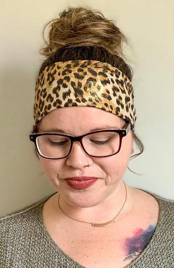 Shimmer Animal Print Headband