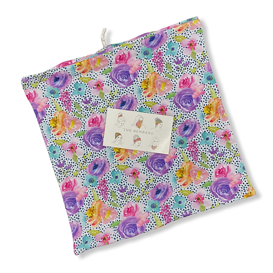 Looser Fit Bright Floral Spots GemBand - All-in-on Accessory