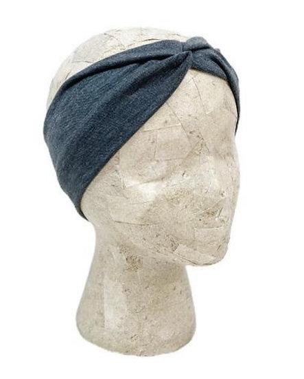 Solid Charcoal Grey Headband
