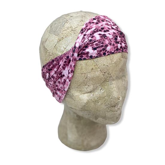 Pink Glitter Shimmer Headband