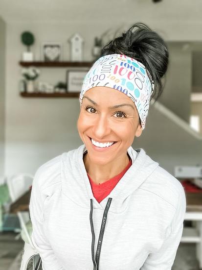 Multi-Colored 100 Headband