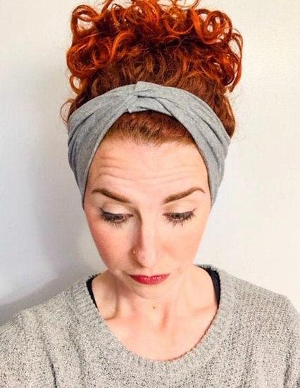 Solid Light Grey Headband
