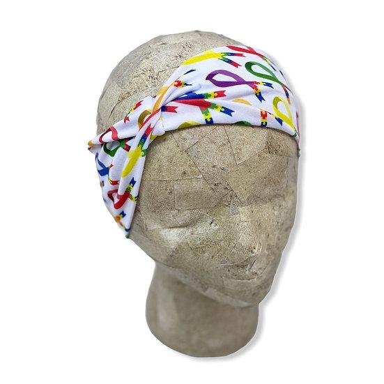 Autism Awareness Ribbon Headband