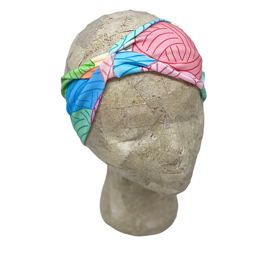 Colorful Yarn Headband