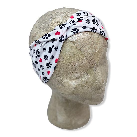 Paws and Hearts Headband
