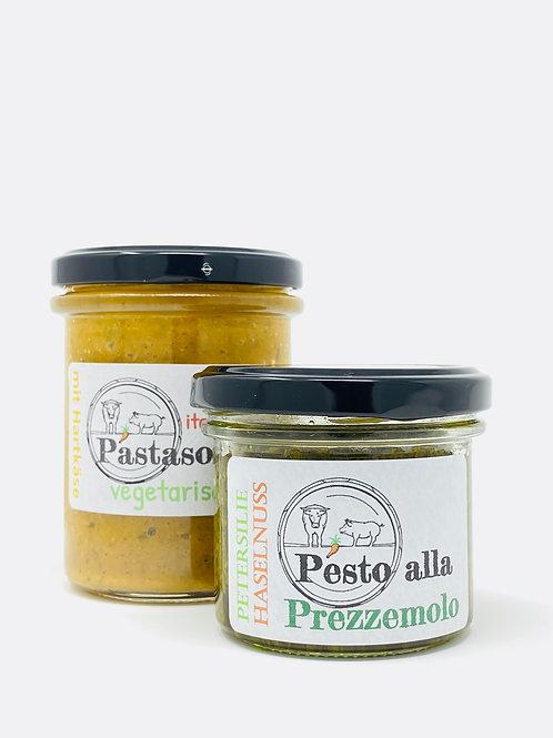 Pastasoße vegetarisch, Pesto alla Prezzmolo
